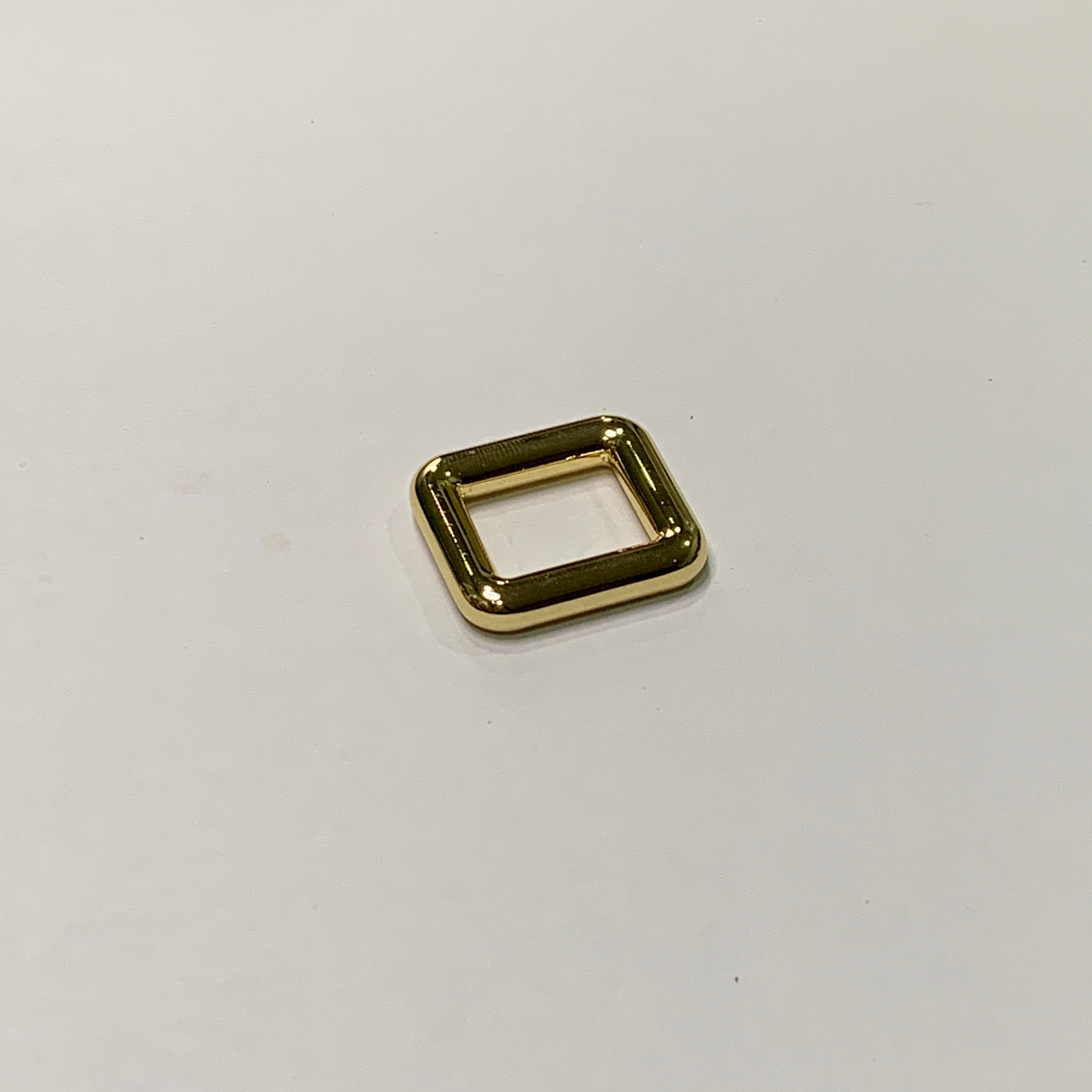 20mm Glossy Gold Square Ring