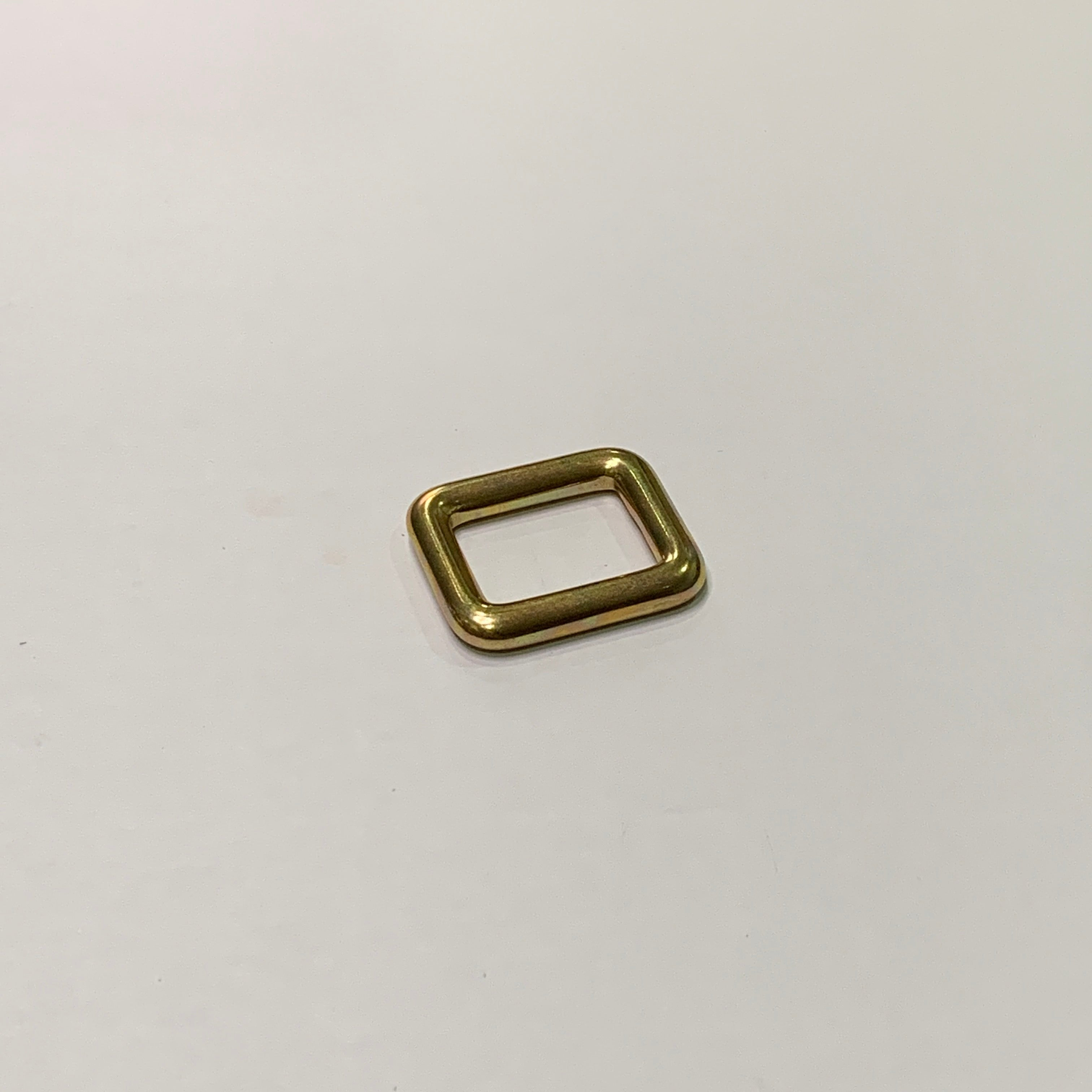 20mm Brass Square Ring
