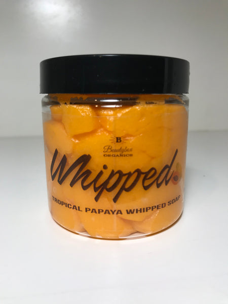 Tropical Papaya Whipped Soap
