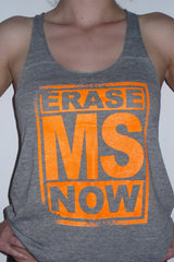 "Kid Dangerous ""Erase MS Now"" Women's Tank"