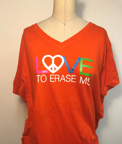 2018 Women's Race to Erase MS Campaign Tee