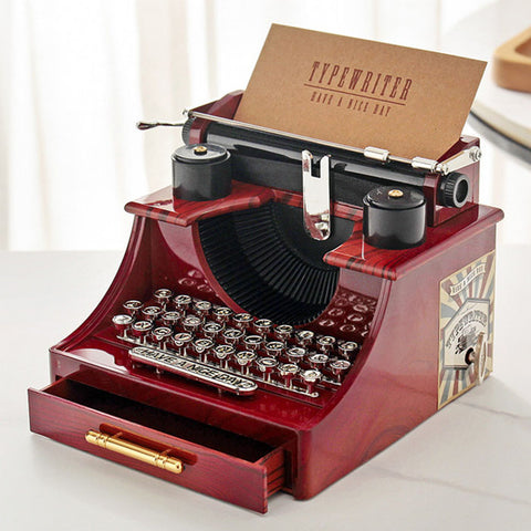 Typewriter music box