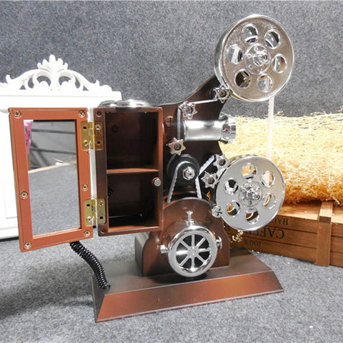 Movie Projector Music Box