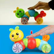 Pressure Crawling Caterpillar Toy for Baby - Luckybudmall