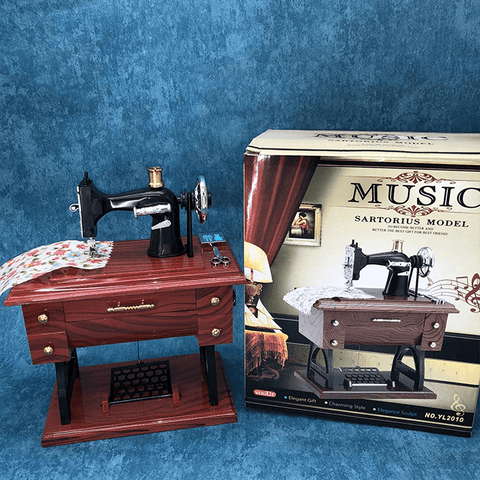 Vintage Wind Up Music Box - Luckybudmall