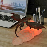 3D Print Fire-Breathing Dragon Night Light