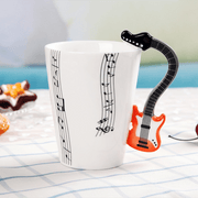 Novelty Musical Instrument Coffee Mug - Luckybudmall