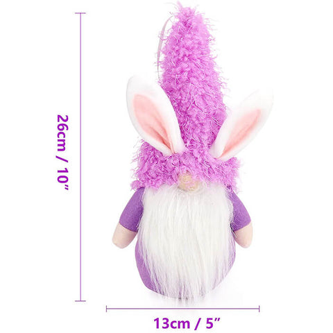 3pcs/set Easter Bunny Gnomes Plush Dolls
