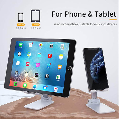Foldable & Adjustable Cell Phone Stand - Luckybudmall