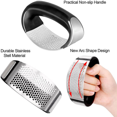 Handy Garlic Press & Peeler Set - Luckybudmall