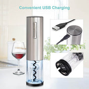 Giftable 4 in 1 Electric Wine Opener Kit