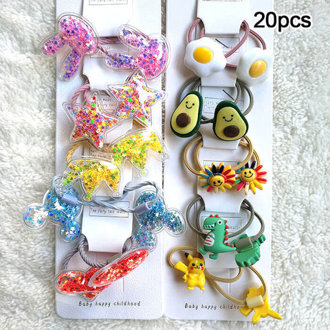 Quicksand Bling Hair Clips & Hair Bands - Luckybudmall
