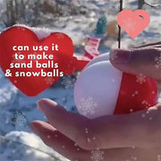 Snowball Makers/ Cute Duck Snowman Penguin Snow Molds (Send Color Randomly)