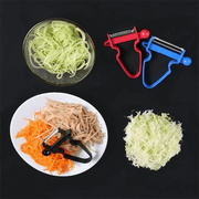 One Set Fit All Vegetable Peelers (Set of 3) - Luckybudmall