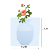2pcs Magic Silicone Flower Vase - Luckybudmall