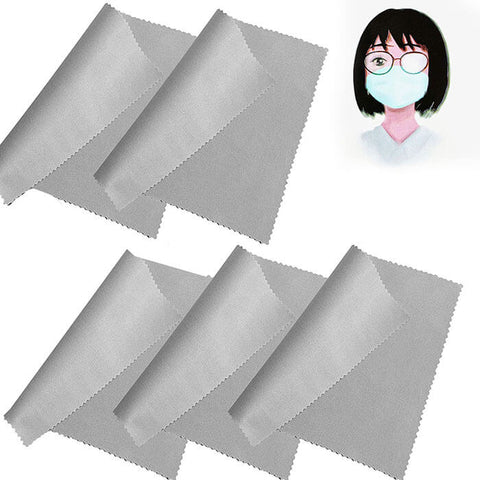 5pcs/pack Reusable Dry Anti Fog Wipes