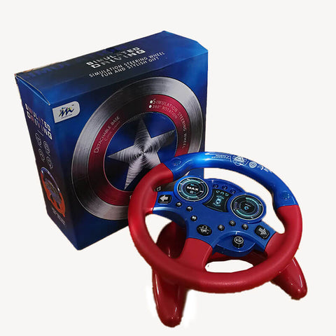 Creative Sounding Steer Wheel Toy - Luckybudmall