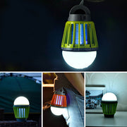 2 in 1 Electric Bug Zapper Lamp for Camping