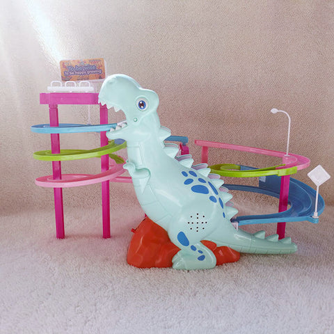 Musical Dinosaur Race Track Toy - Luckybudmall