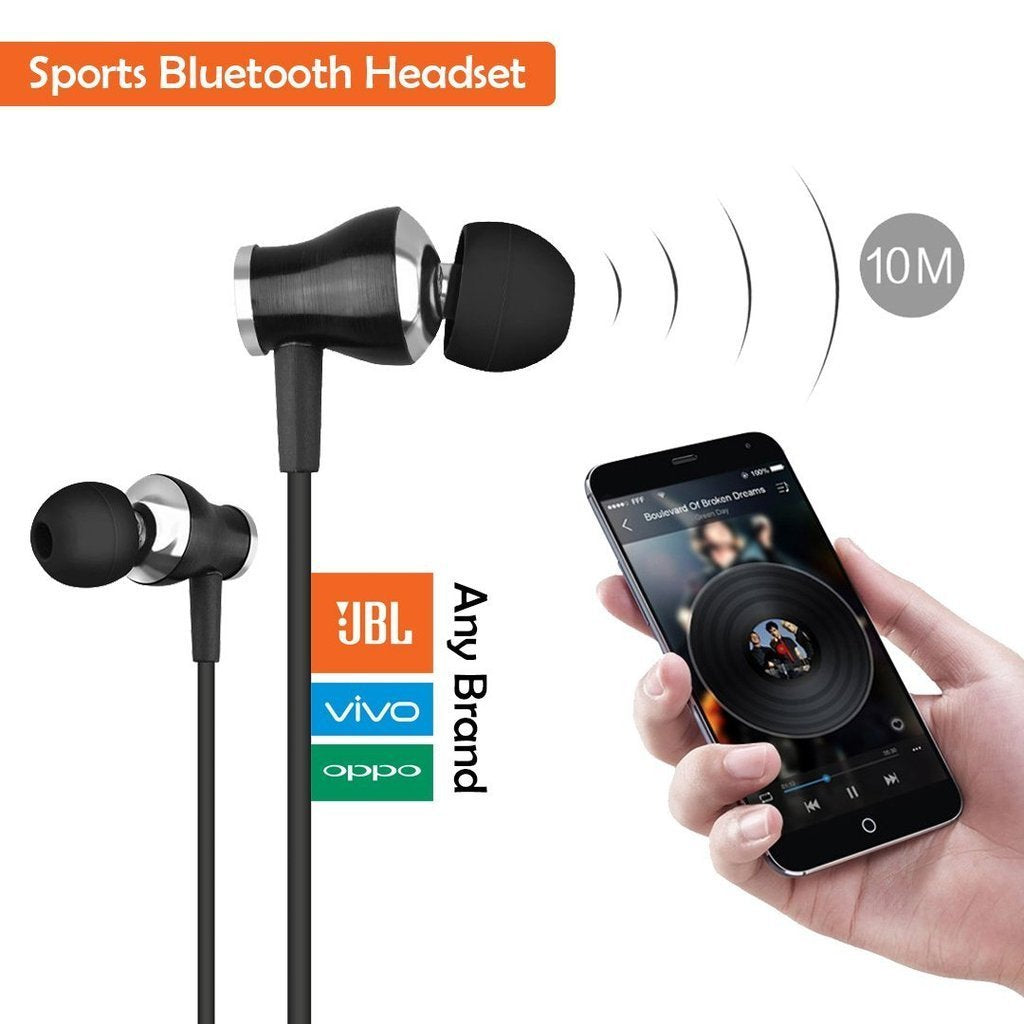 Branded Sports Wireless Bluetooth Headset