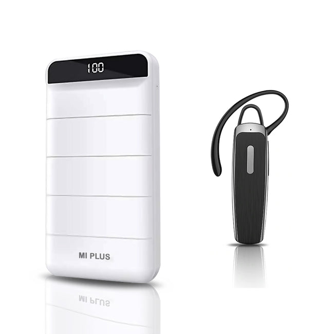 Fast Charging 32000 mAh Powerbank with Bluetooth Headset Free