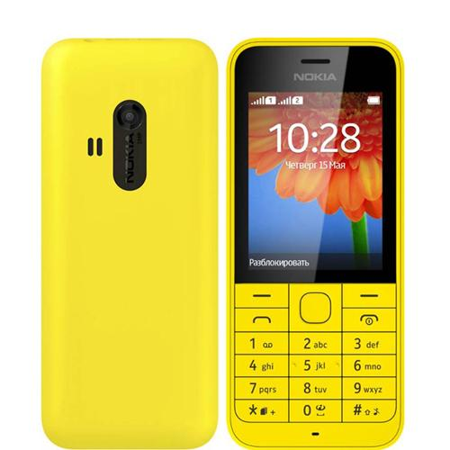 220 Mobile Phone (Dual SIM) (2.4 Inch Display)
