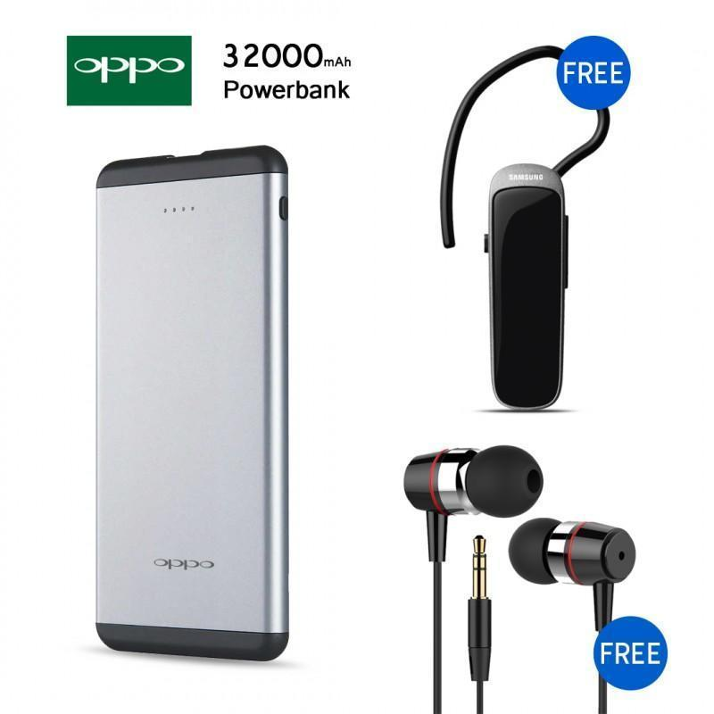Combo offer - 32000mah Power Bank + Bluetooth + Earphone