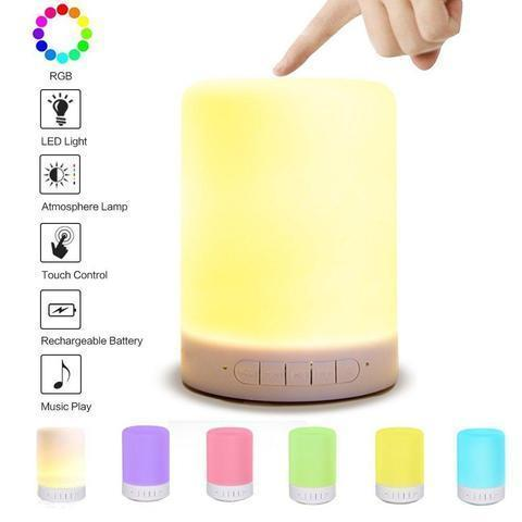 Mi Plus Portable Smart Music Multicolor Lamp 3 Bluetooth Speaker