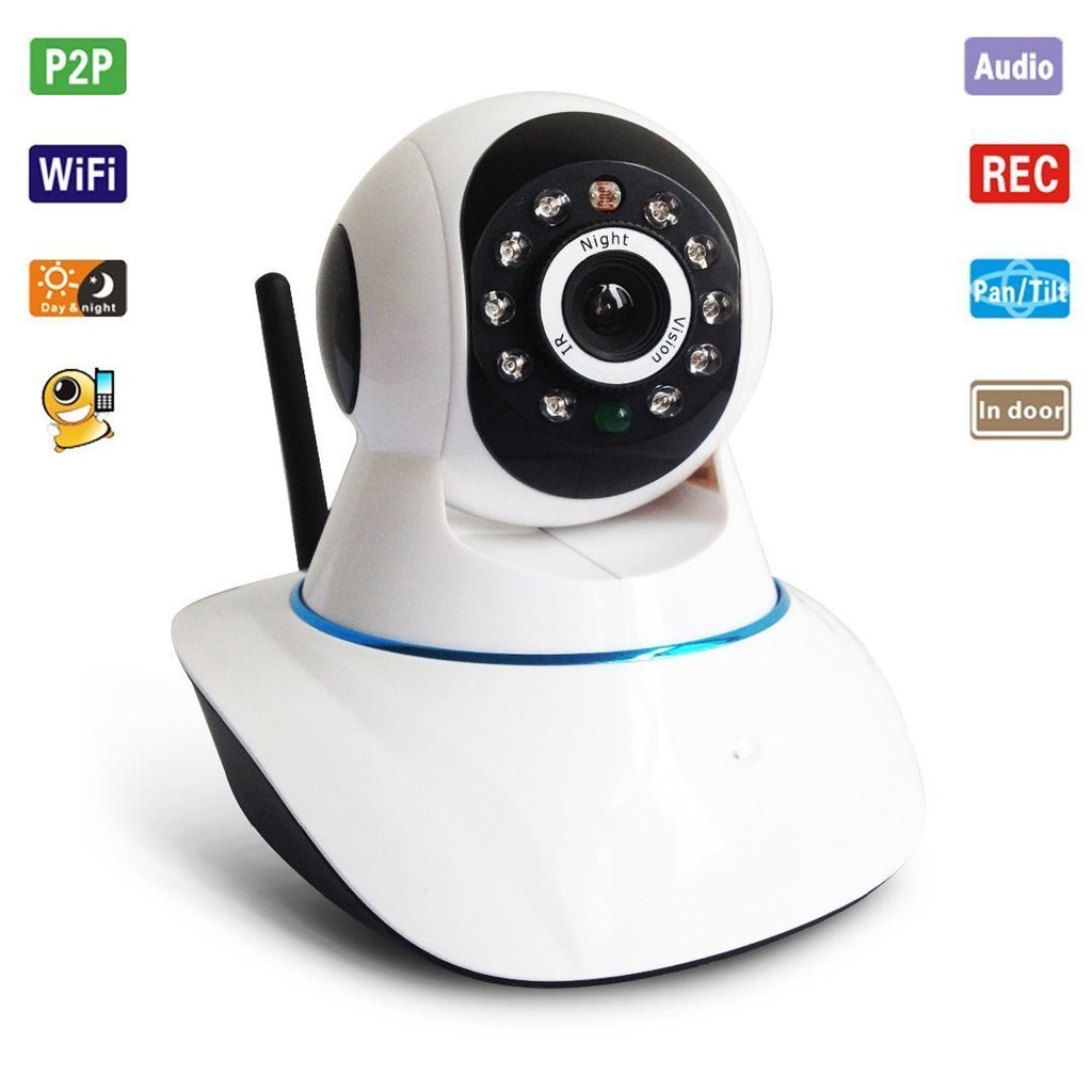 Wireless HD IP Wifi CCTV Indoor Security Camera Stream