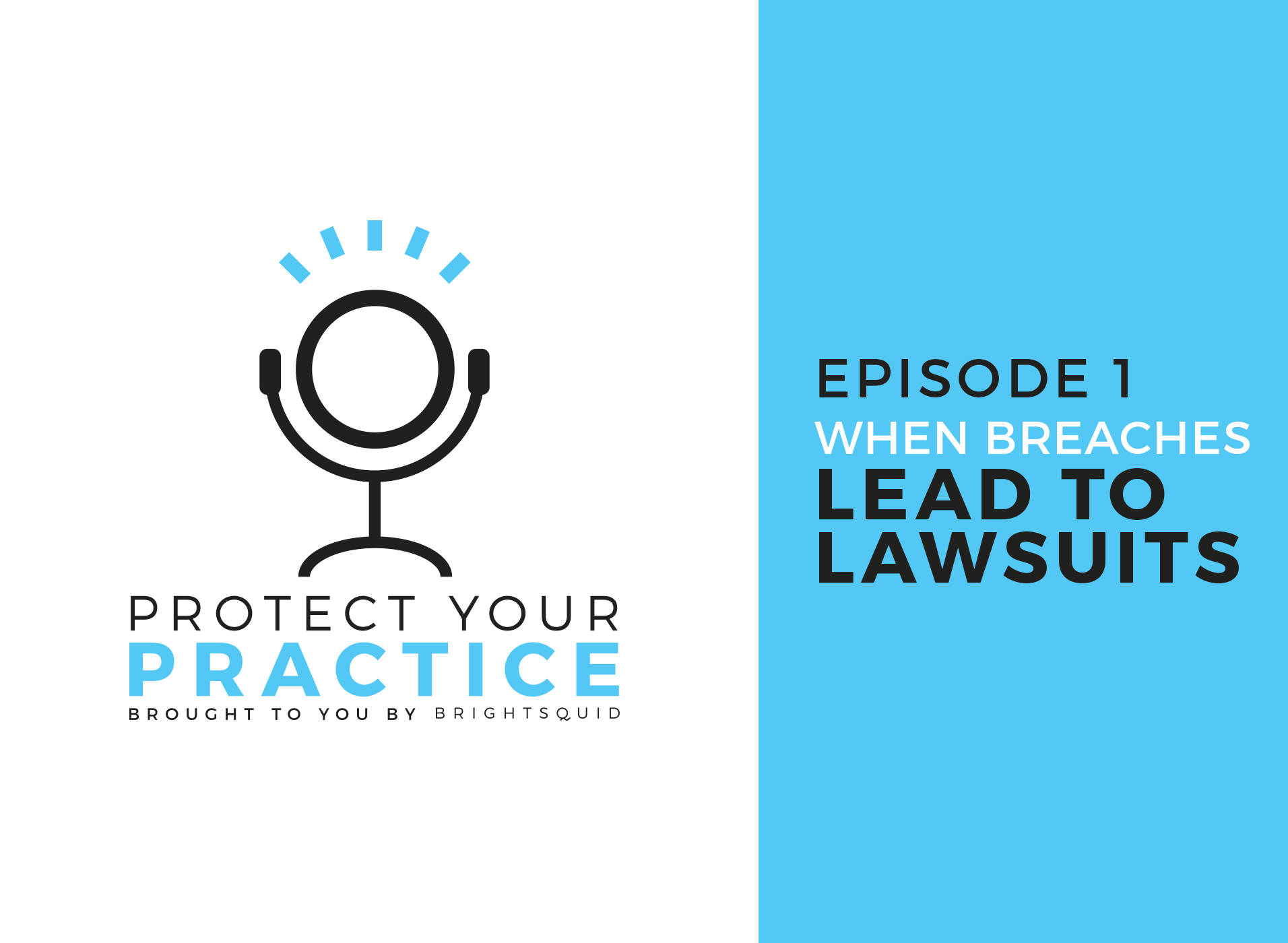 Protect Your Practice Episode 1: When Breaches Lead to Lawsuits