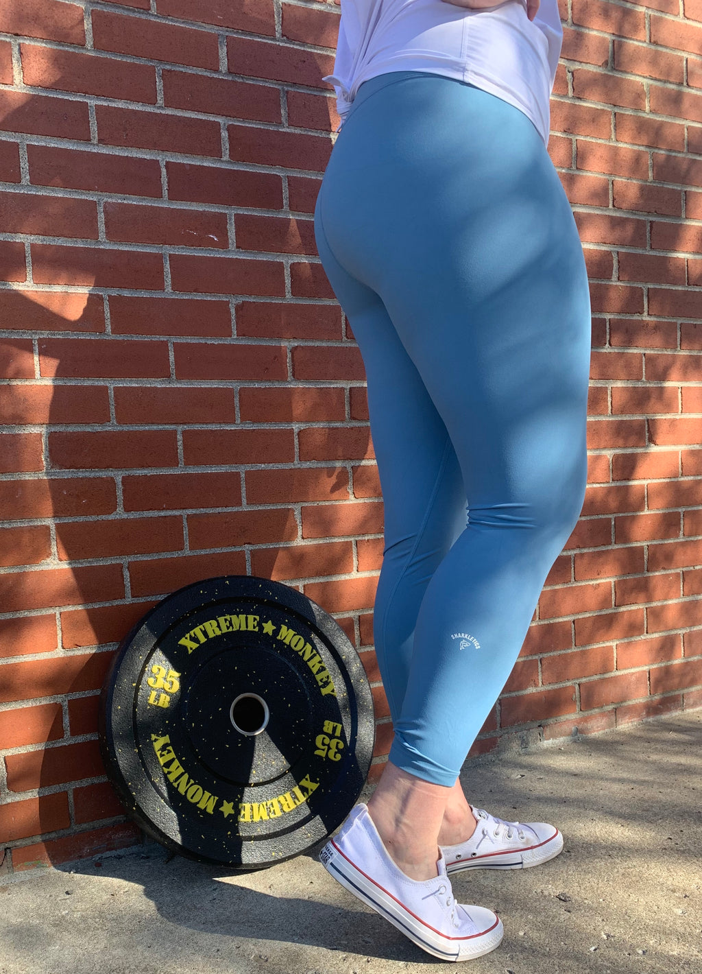Renegade Leggings - Light Blue