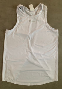 Open-back tank top for crossfit