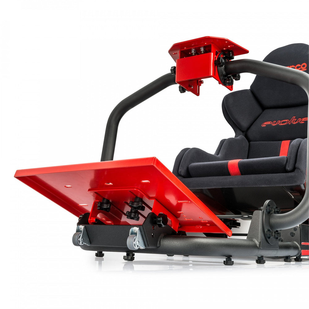 Sparco Evolve-C - View from Pedal base
