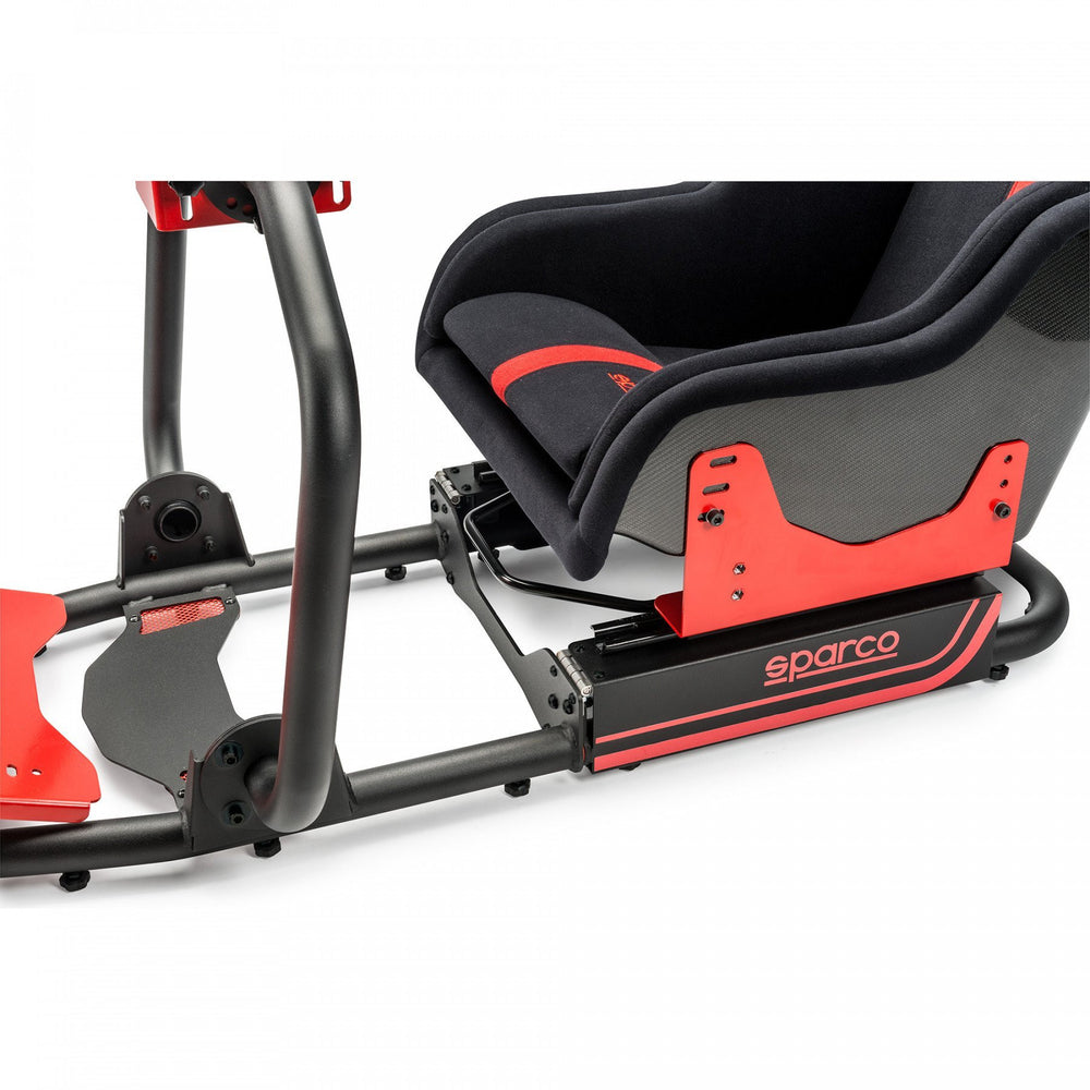 Sparco Evolve-C - Lower Seat View