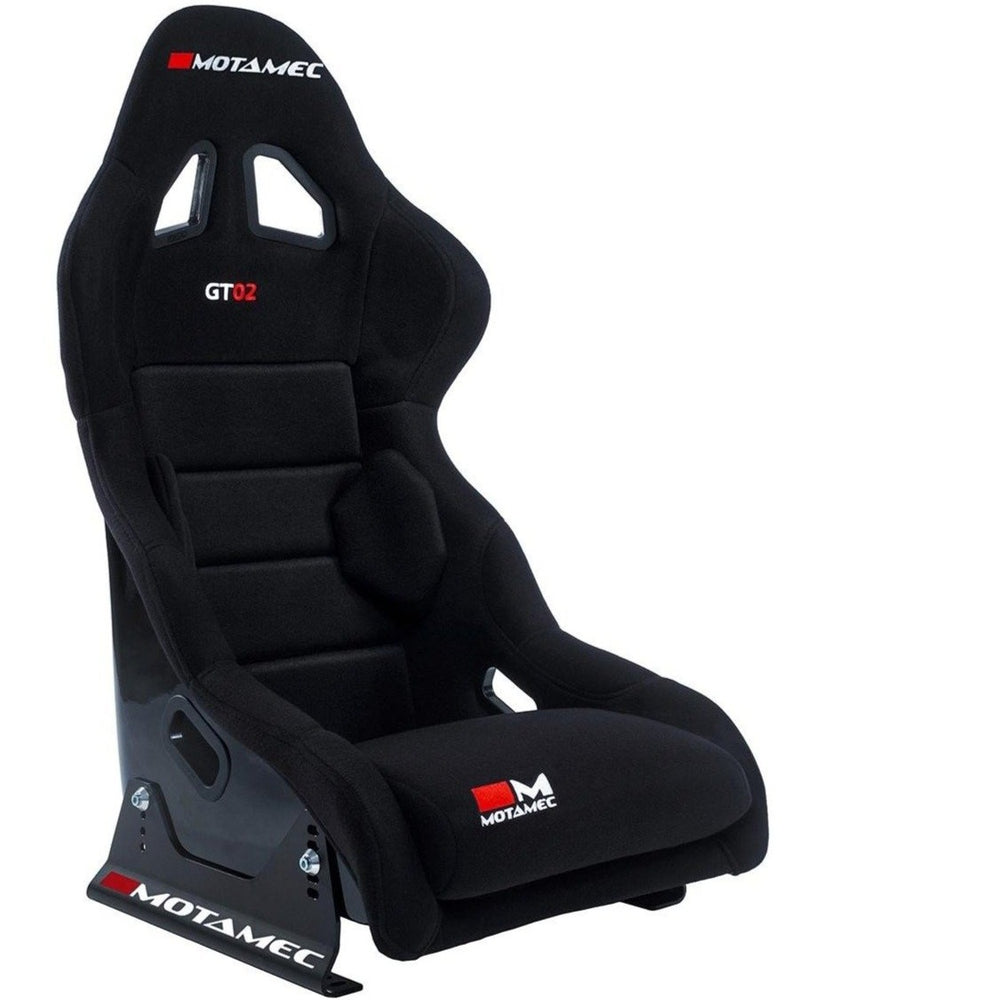 Motamec Racing GT02 Race Seat Fiberglass Shell BLACK