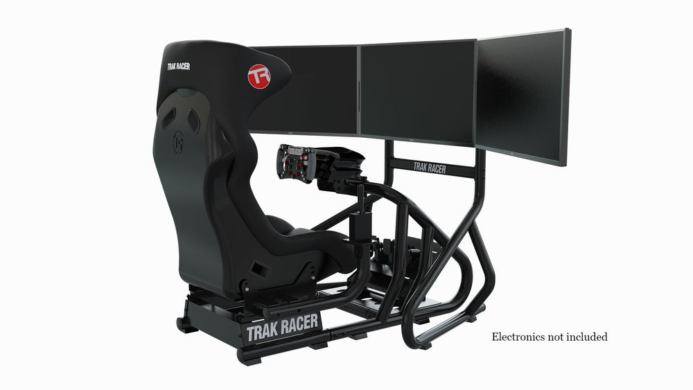 Trak Racer RS6 Mach 2 Rear + Triple Monitor Stand