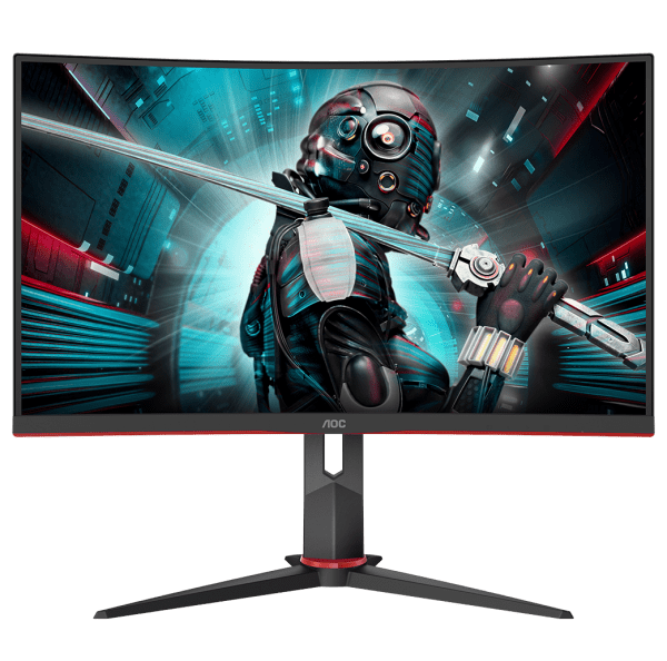 "AOC 27"" QHD Curved 144Hz 1ms Gaming Monitor"