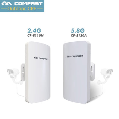 1-3Km Long Range WIFI Outdoor CPE WIFI Router 2.4Ghz ,5Ghz 300Mbps Wireless Router Outdoor WIFI CPE Bridge Repeater Access Point