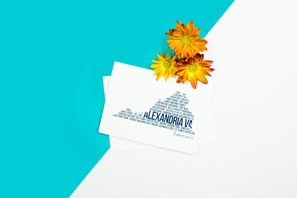Alexandria Love Notecard- 6-pack