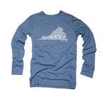 Arlington, VA | Unisex Long Sleeve Tee | Light Blue