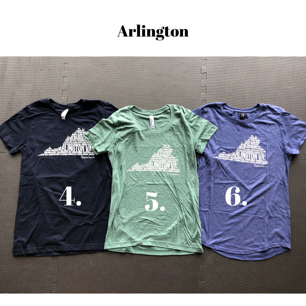 Arlington, VA Women's Tee