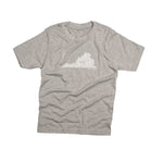Falls Church, VA | Kid's Tee | Gray