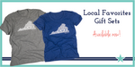Local Falls Church Favorites Gift Sets- 2 Bestselling Tees + 6-pack of Notecards