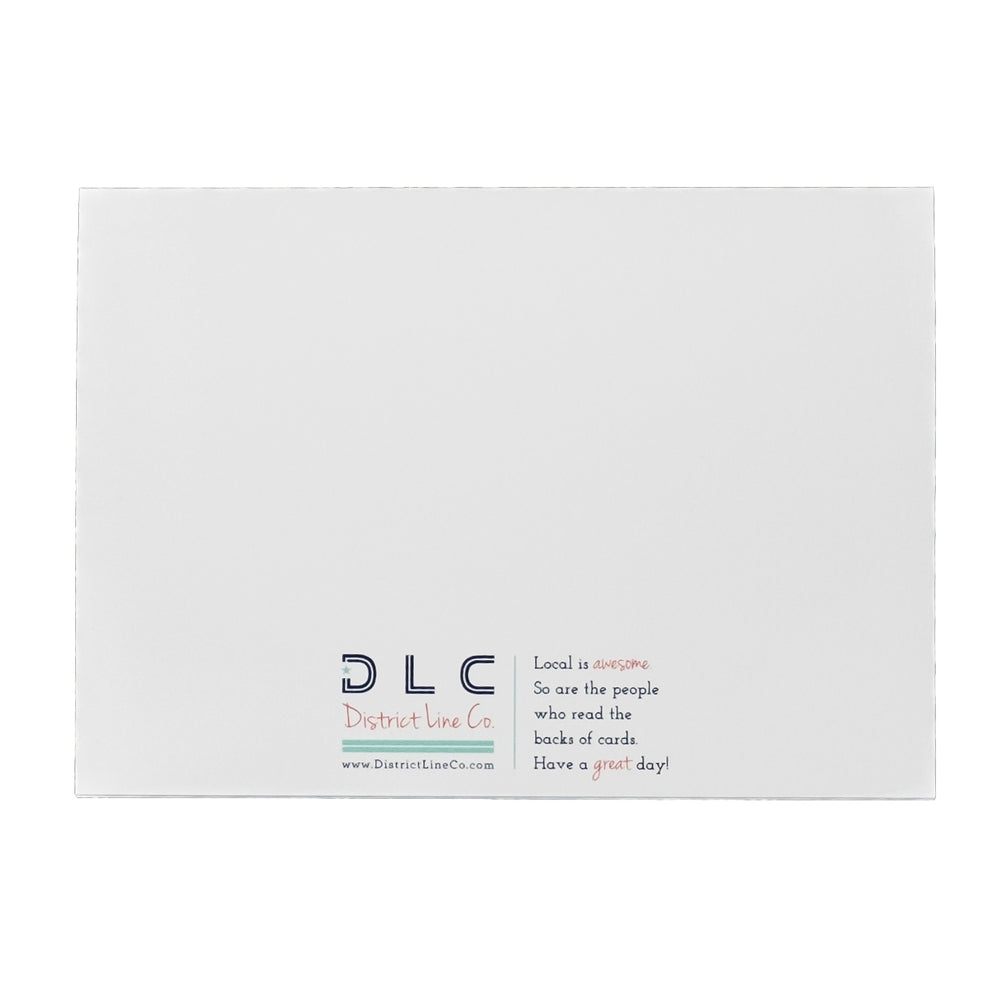 Falls Church Love Notecard- 6-pack