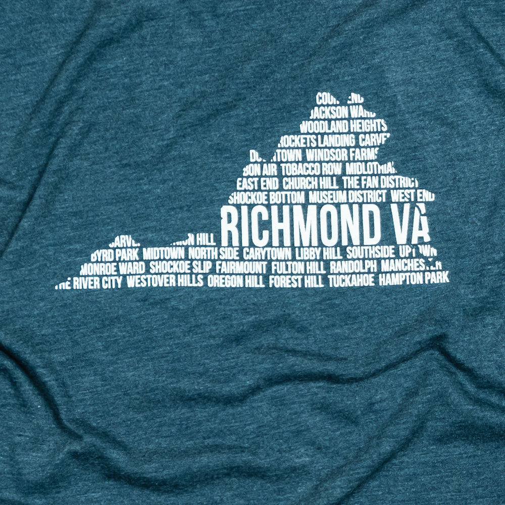 Richmond, VA | Unisex Tee | Indigo