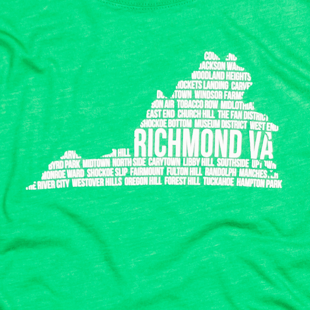 Richmond, VA | Women's Tee | Green