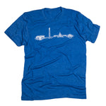 DC Skyline | Unisex Tee | Royal Blue