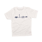 DC Skyline | Kid's Tee | White