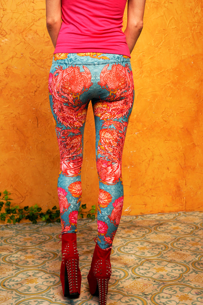 """FIREBIRD"" leggings"