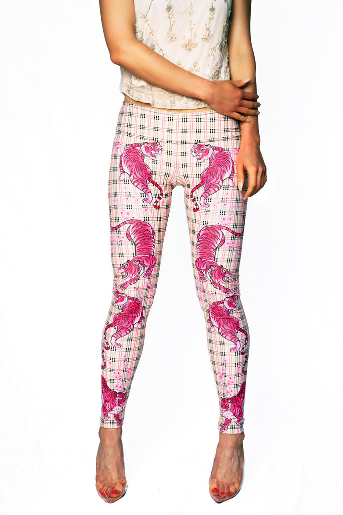 """PINK PANTHERA"" leggings"